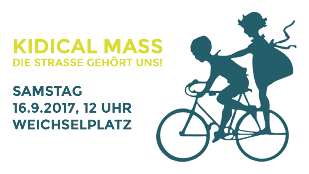 Kidical Mass Berlin  2017 Flyer