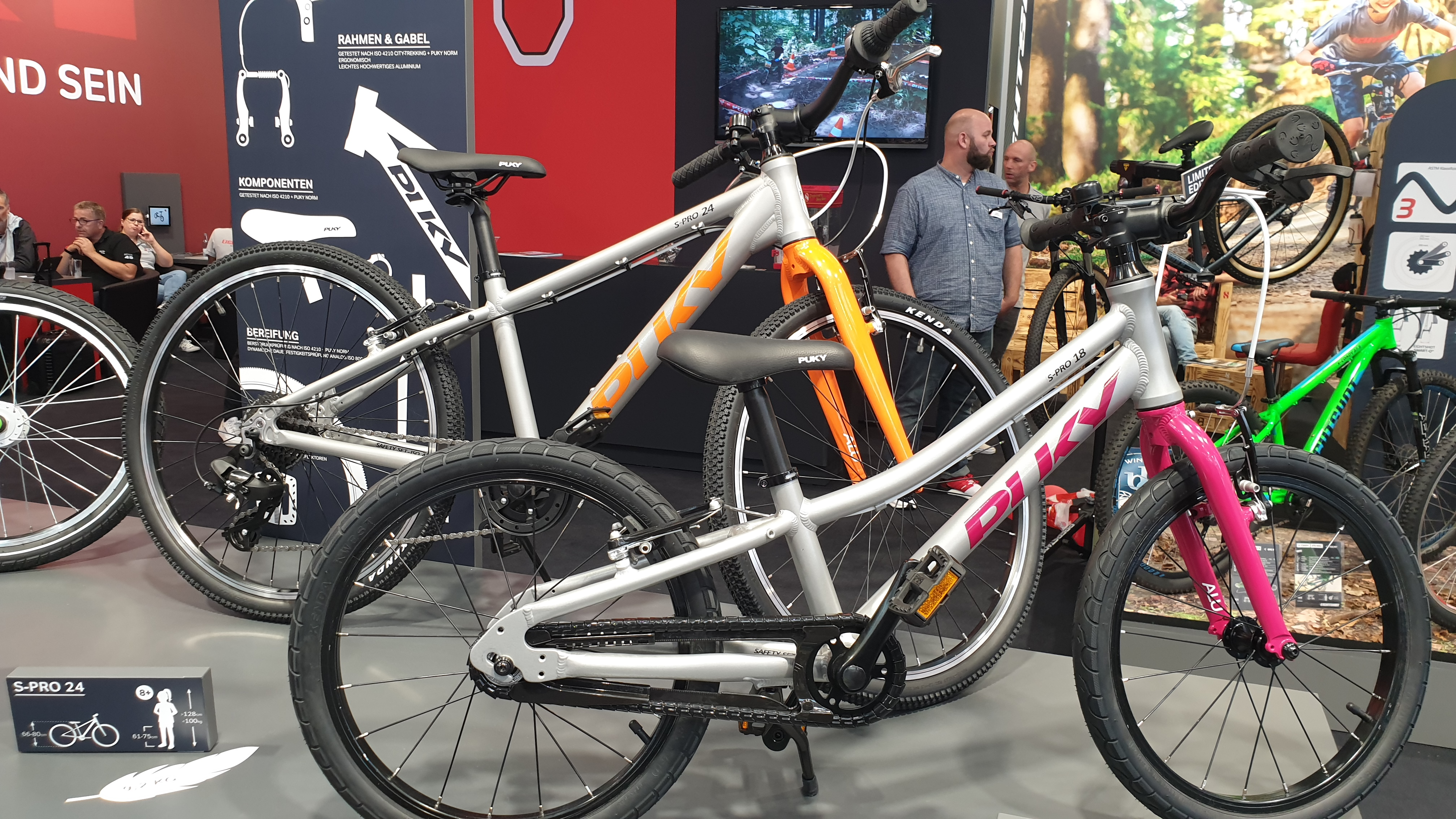 PUKY S-Pro 18 und PUKY S-Pro 24 Kinderfahrräder
