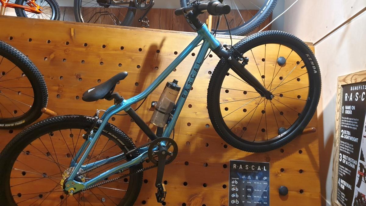 Rascal Bikes - Riemenantrieb auch bei den größeren Modellen