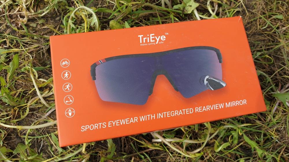 TriEye - Fahrradbrille mit Rückspiegel