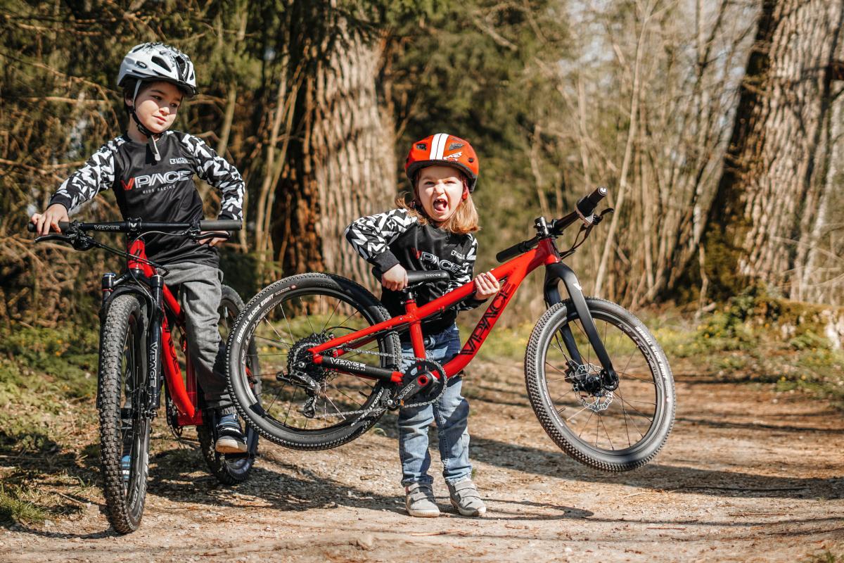 Federgabel am Kinderbike - auch eine Frage des Gewichts