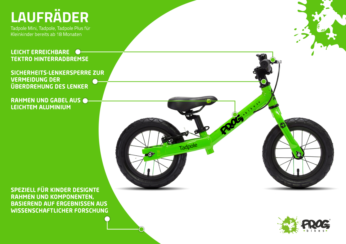 Frog Bikes - Kinder-Laufräder