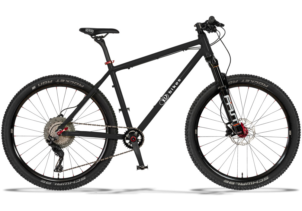 KUbikes Disc L 26 Zoll - Superlight mit Federgabel