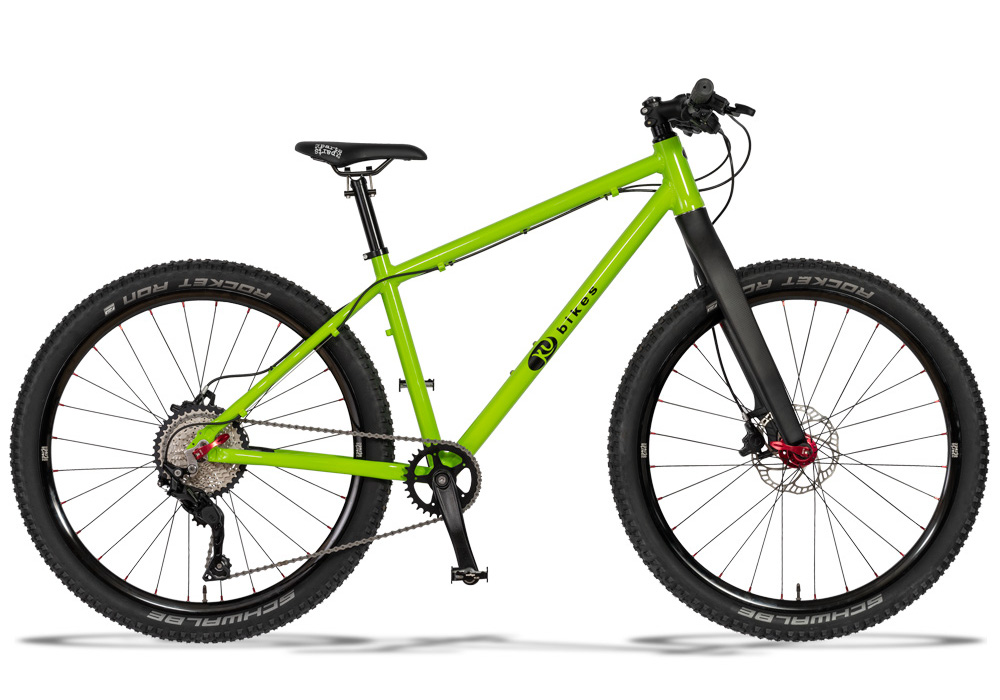 KUbikes Disc M 26 Zoll - CustomMade mit Starrgabel