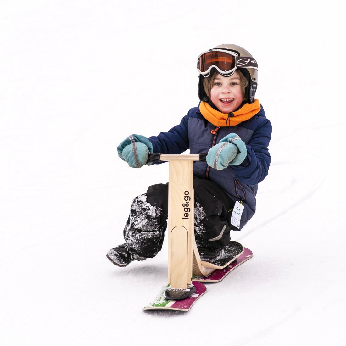 Leg&Go Polar Bike - ein Gefährte auch im Schnee