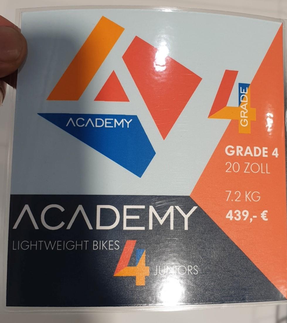 Academy Bikes 20 Zoll Gewicht und Preis