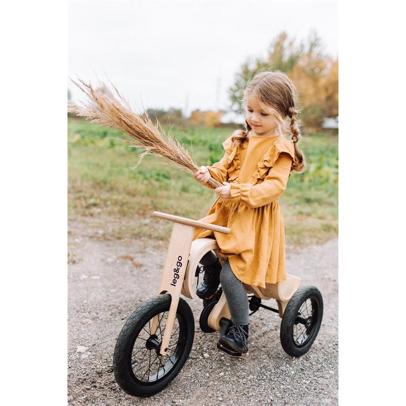 Leg&Go Balance Bike zum echten Fahrrad umgerüstet
