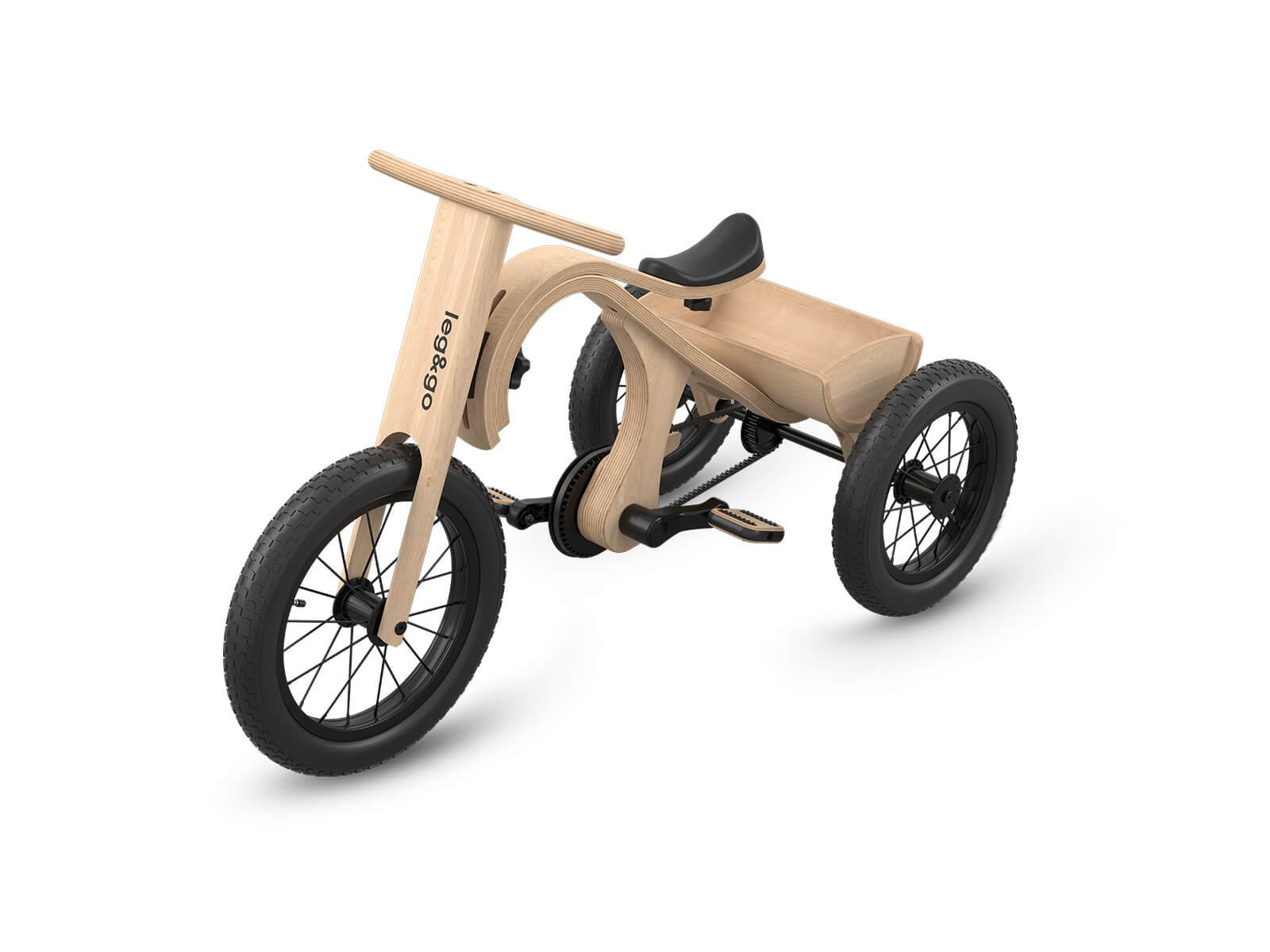 Leg&Go TriCycle - Das Dreirad
