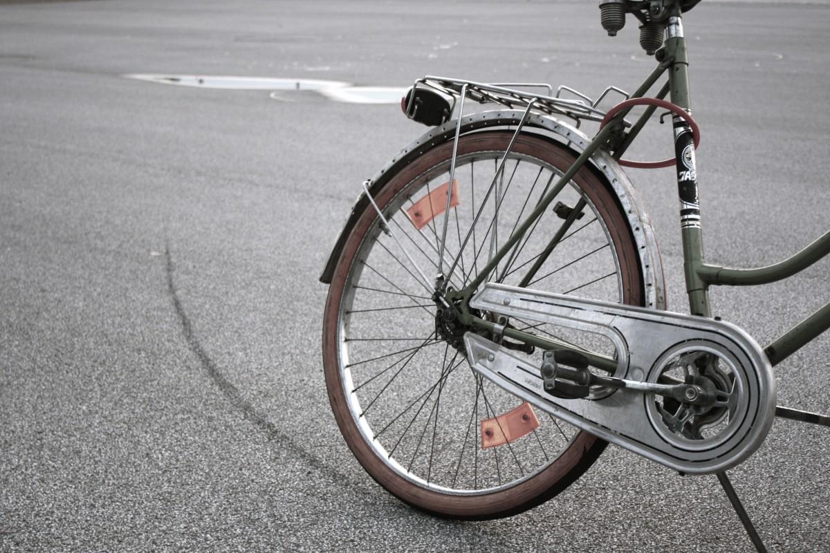 Die Bremsen am Kinderrad - Bitte keinen Rücktritt