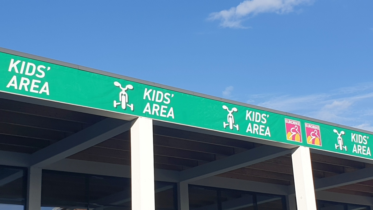 Eurobike 2019 - Kids Area - PUKY und woom