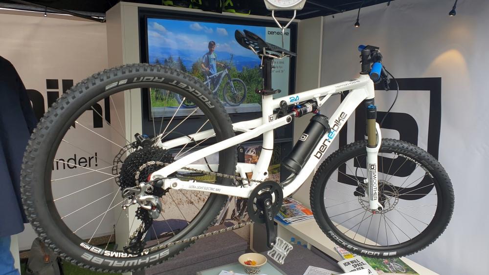 Ben-E-Bike  neues e-MTB Fully für Kinder