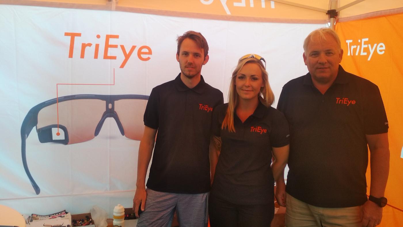 Tri Eye Eyewear, Michael, Camilla und Gründer Carsten Juell Fongen