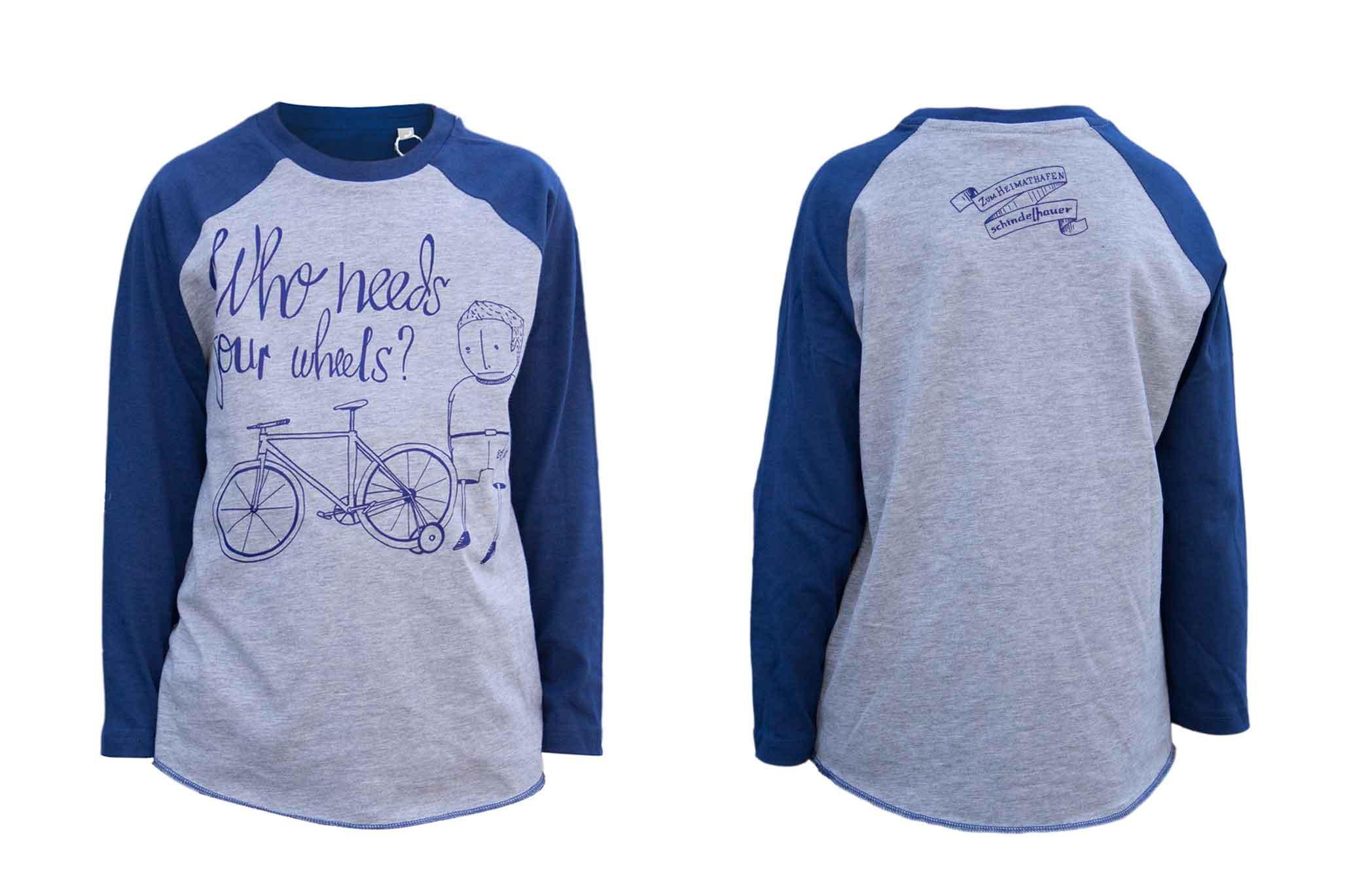 """Schindelhauer T-Shirt """"Who needs 4 wheels?"""""""