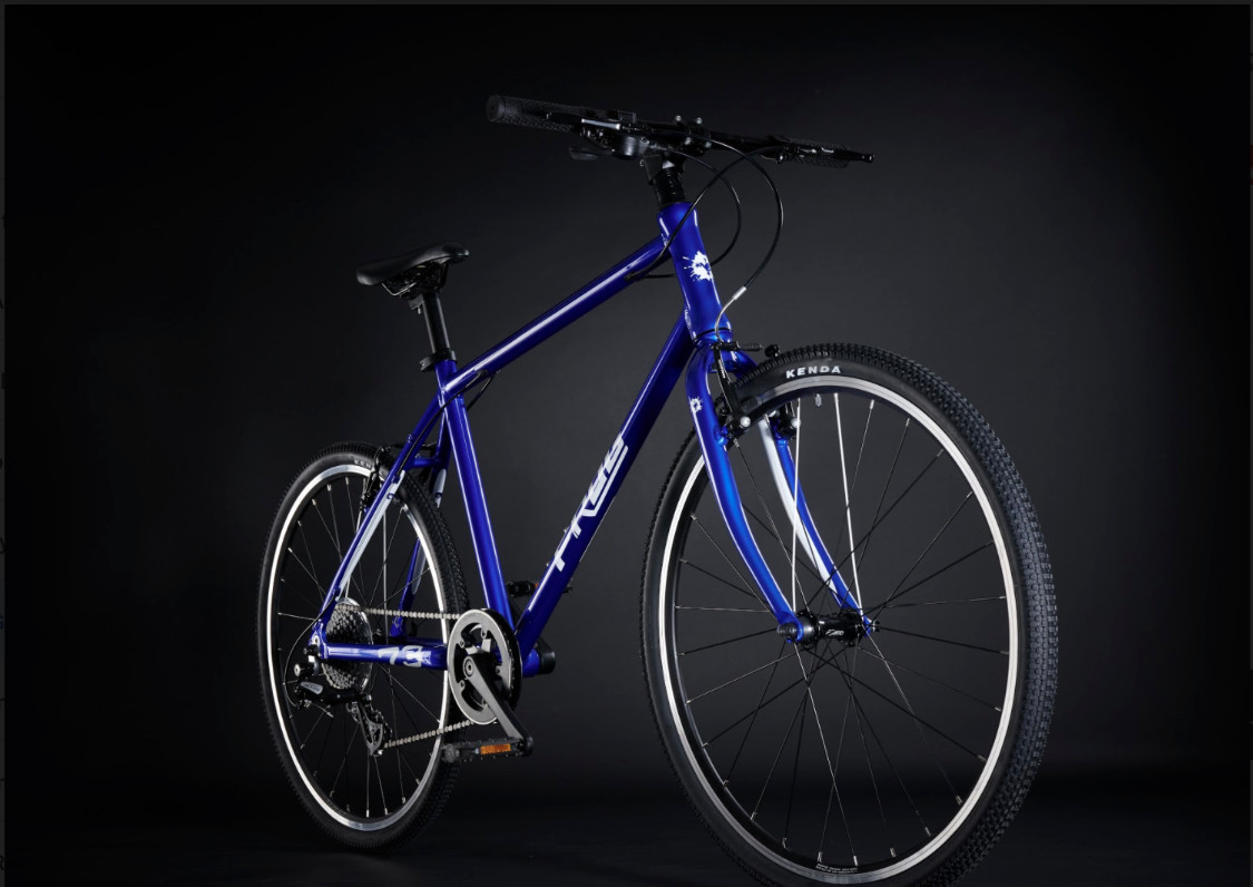 Frog Bikes - neue Farbe: Electric Blue