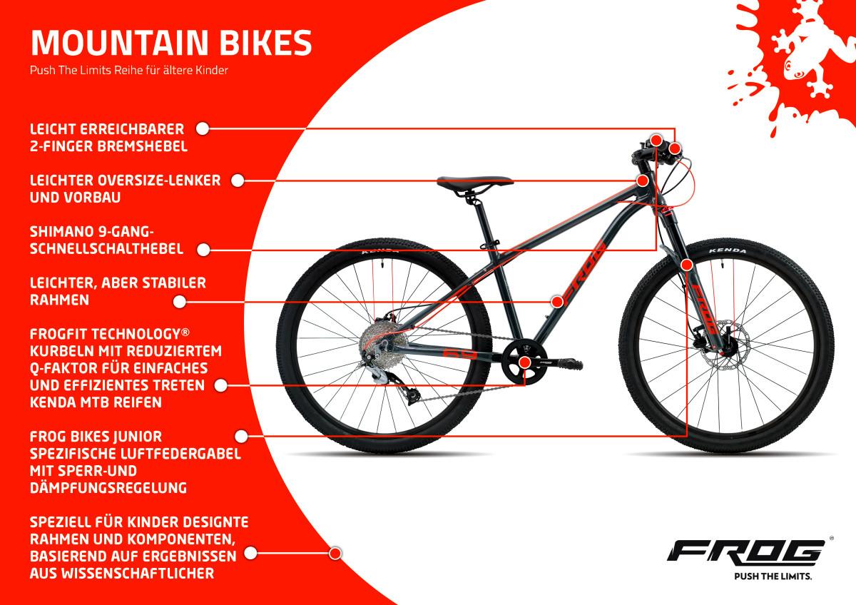 Frog Bikes - Mountainbikes
