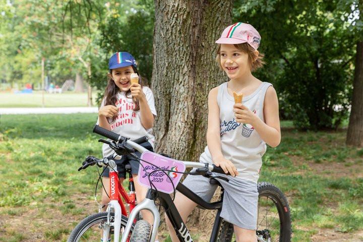 woom bikes Giro del Gelato. Solche Fotos sind gefragt