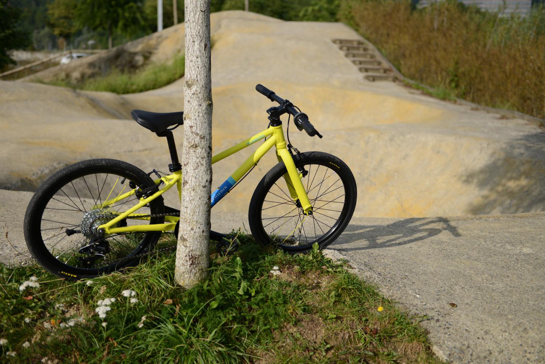 MTB-Cycletech am Pumptrack