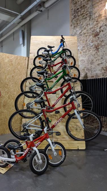 woom bikes auf der Berliner Fahrradschau