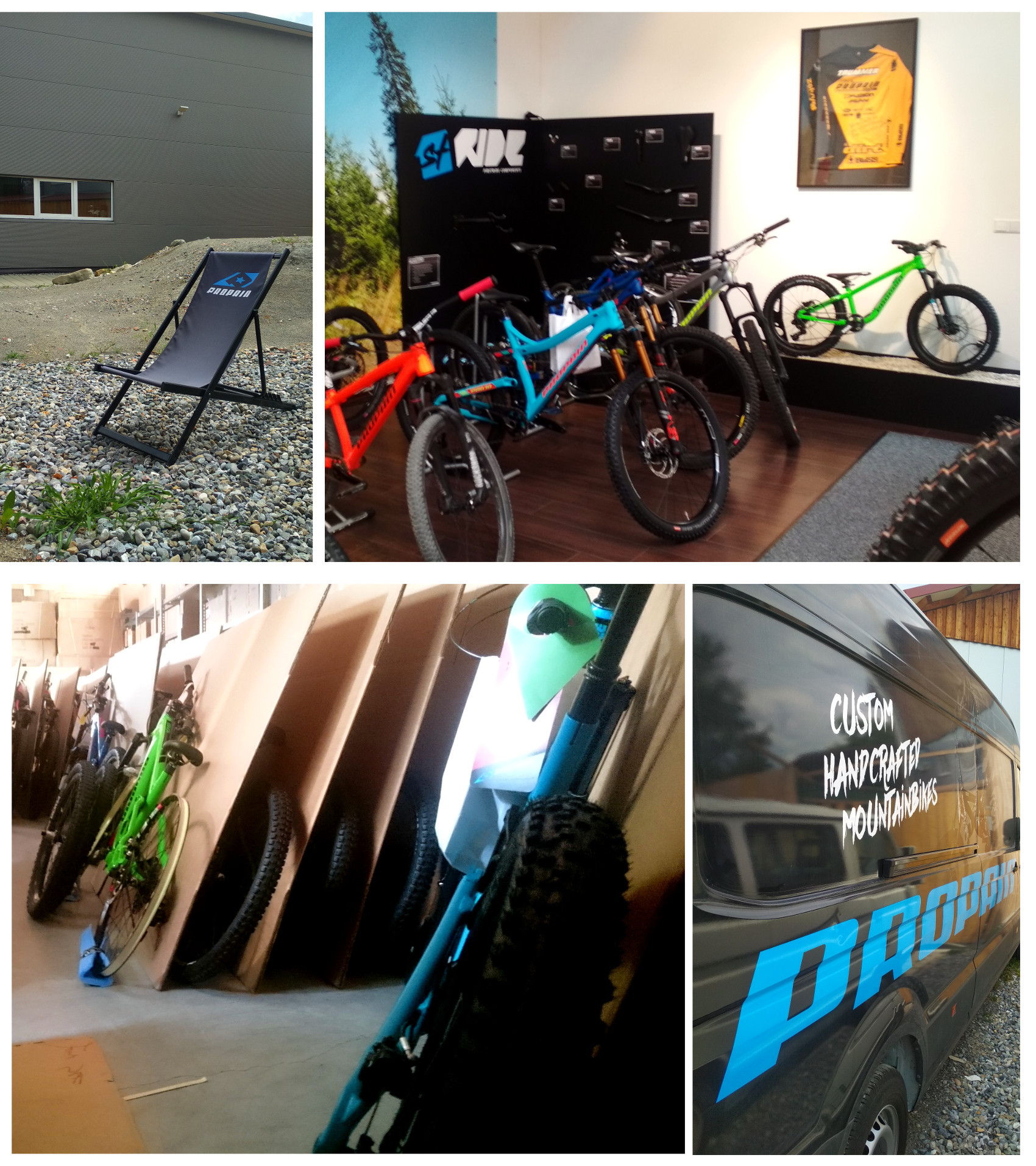 Propain Bikes - HQ Collage