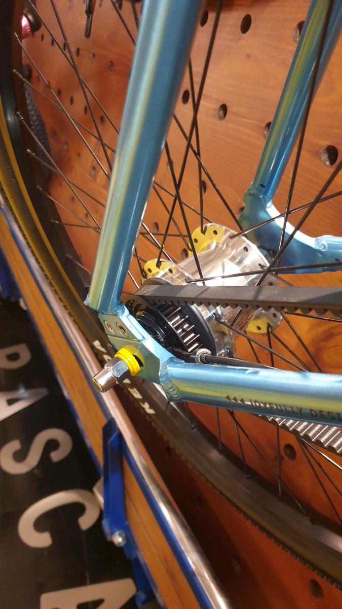 Rascal Bikes haben Riemenantrieb