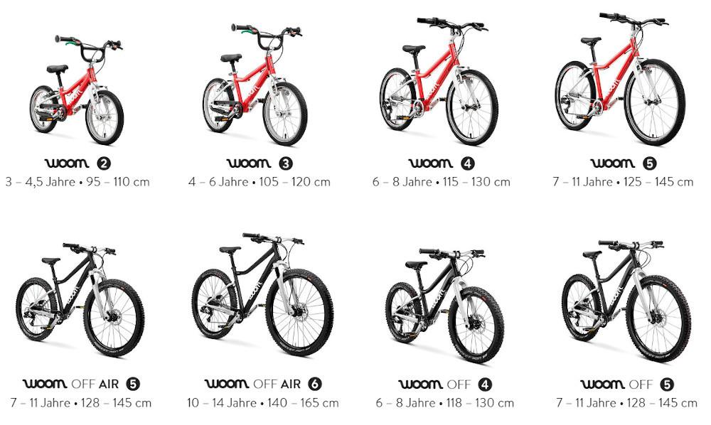 woom bikes 2020 - Welche Modelle sind lieferbar?