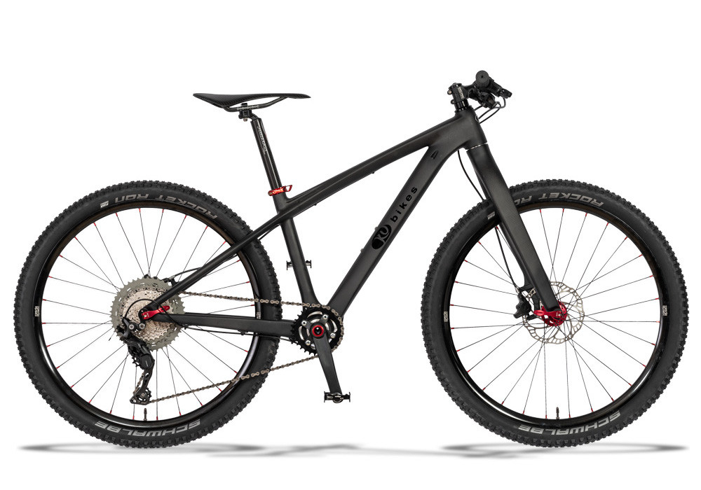 KUbikes Carbon S 26 Zoll mit Starrgabel