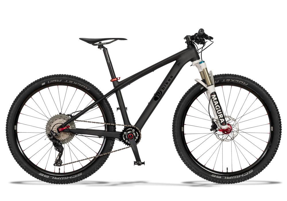 KUbikes Carbon S 26 Zoll mit Federgabel