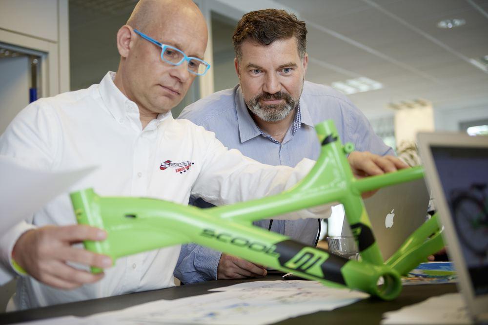 Coolmobility-Gründer Andreas Szygiel und Axel Böse